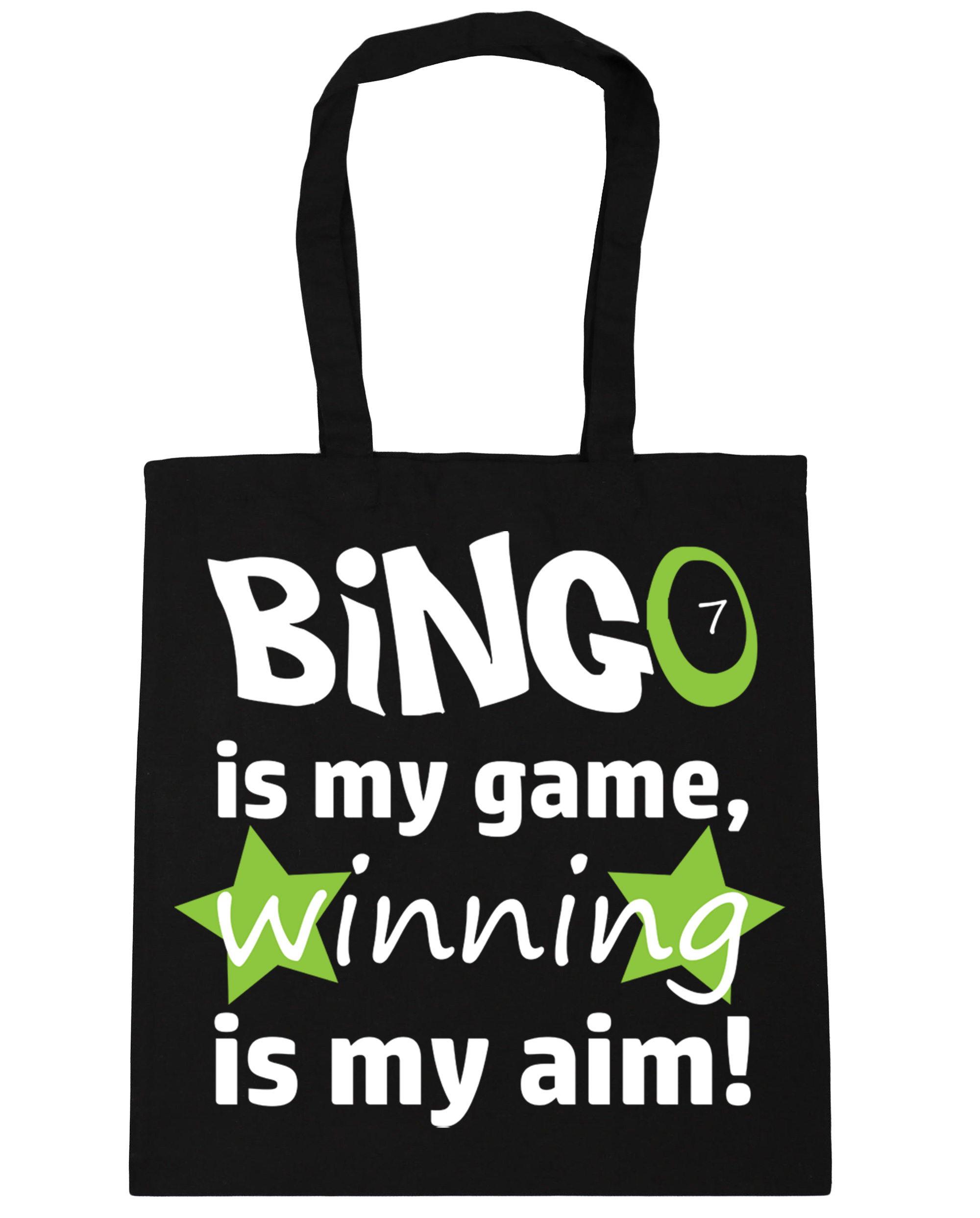 Winning is my Aim Tote Shopping Gym Beach Bag 42cm x38cm 10 l Bingo is my Game